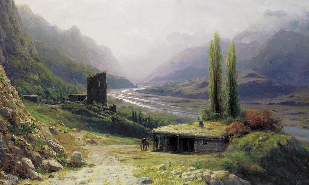 Стихи Сергея Есенина о Кавказе