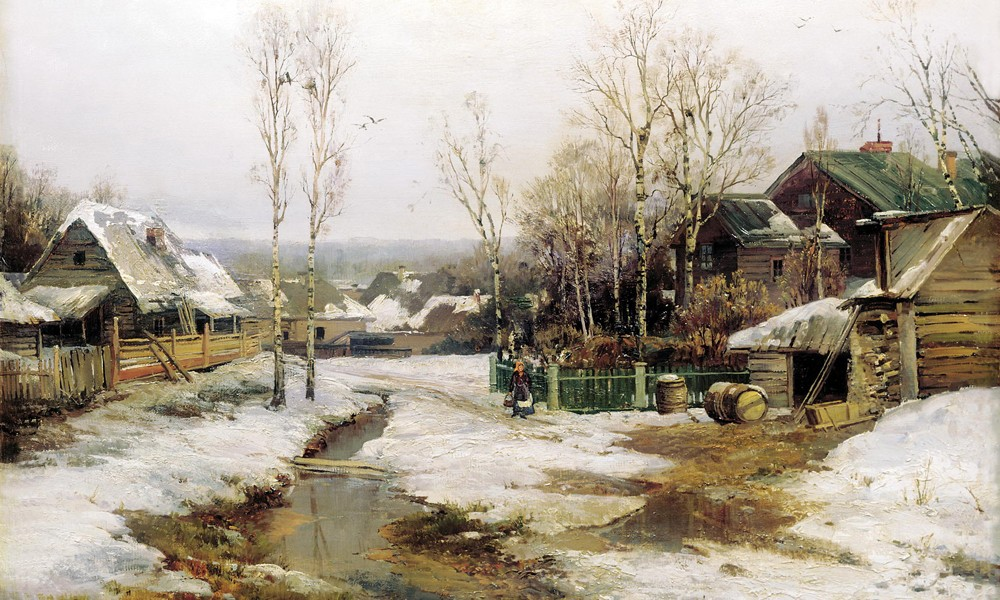 Стихи Сергея Есенина о весне