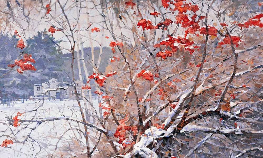 Стихи Сергея Есенина о зиме